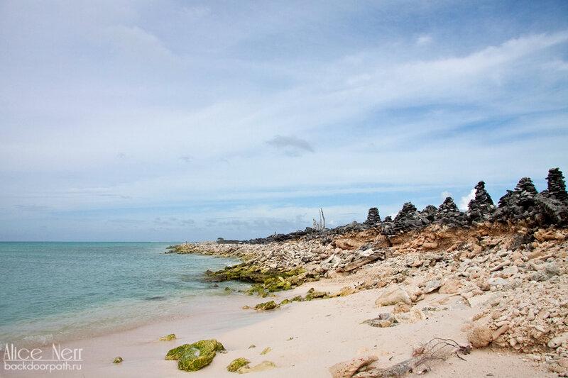 береговая линия острова Crasqui, los roques