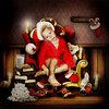 Скрап-набор Busy Santa Claus 0_b9b62_f0feb65f_XS