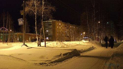Фото города Инта №2571  Северо-восточный угол Куратова 17 30.01.2013_18:03