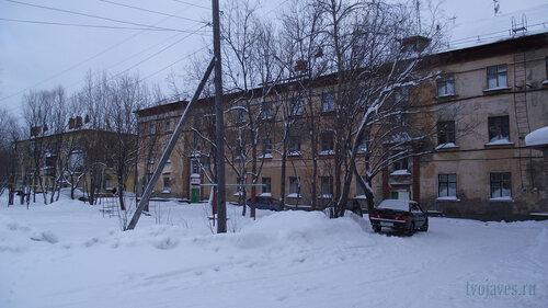 Фото города Инта №2829  Коммунистическая 20 и 18 31.01.2013_13:31