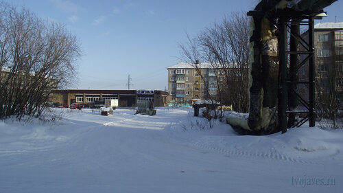 Фото города Инта №3669  Северная 1, Мира 30а, 30 и 32 19.02.2013_12:22