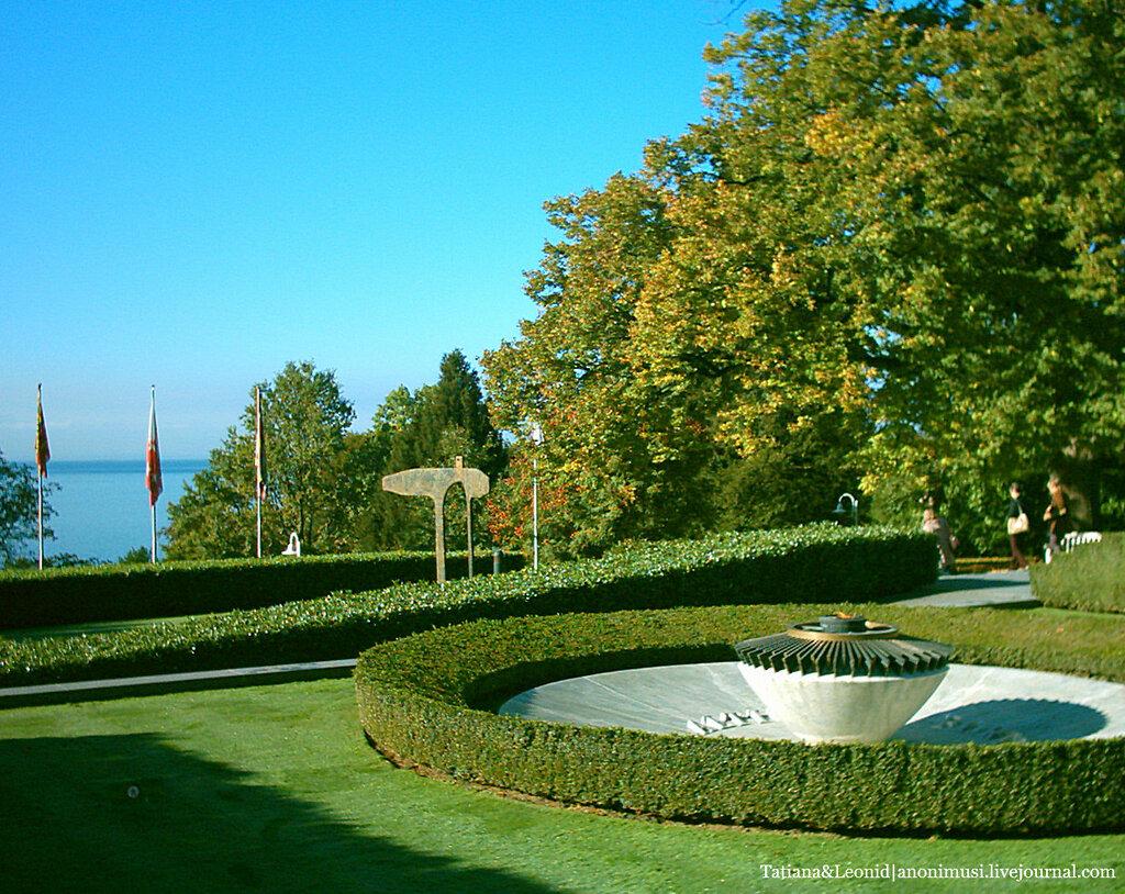 Олимпийский музей в Лозанне