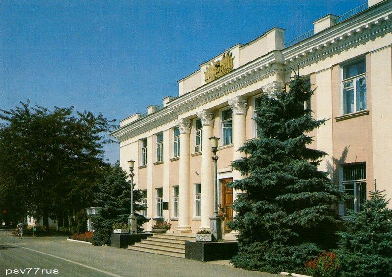 Здание горкома Компартии Украины.