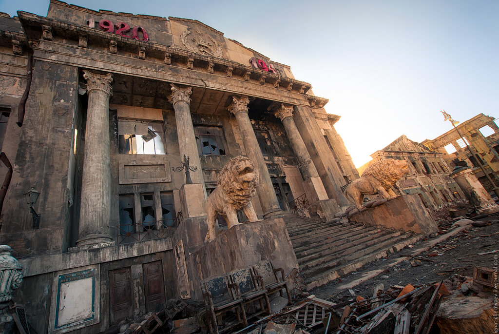 Сталинград драмтеатр съемки фильма
