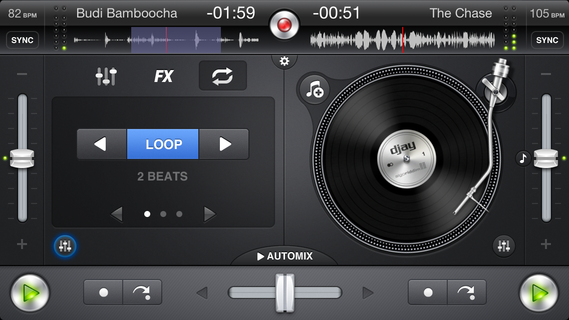 Djay for iphone v1.6.4 ios cracked