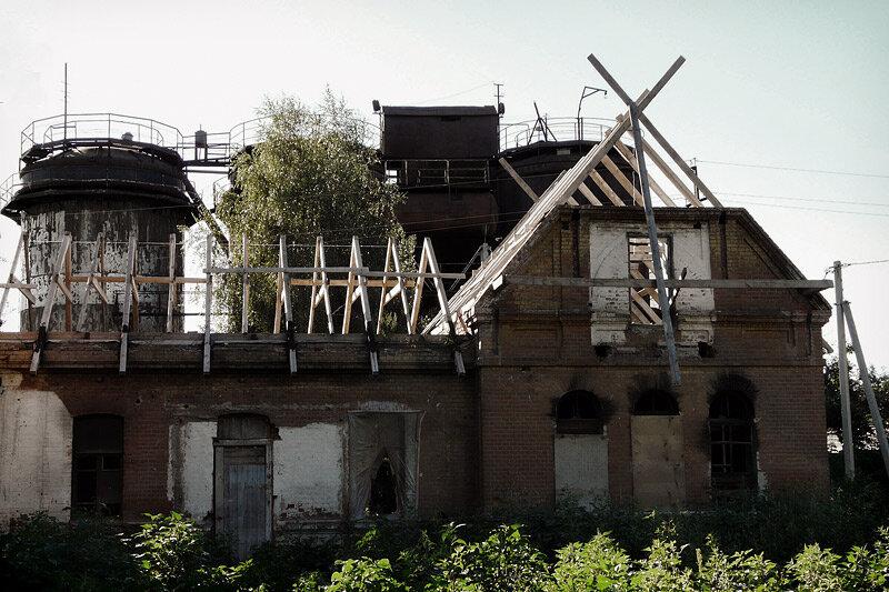 Усадьба Мухановых, 2012, запустение. Фото Sanchess