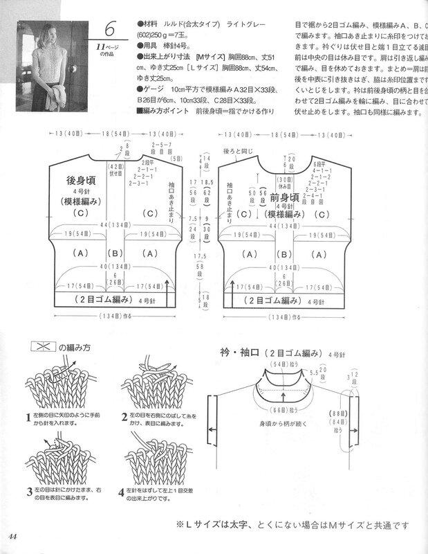 LETS KNIT SERIES 2004春夏 - 编织幸福 - 编织幸福的博客