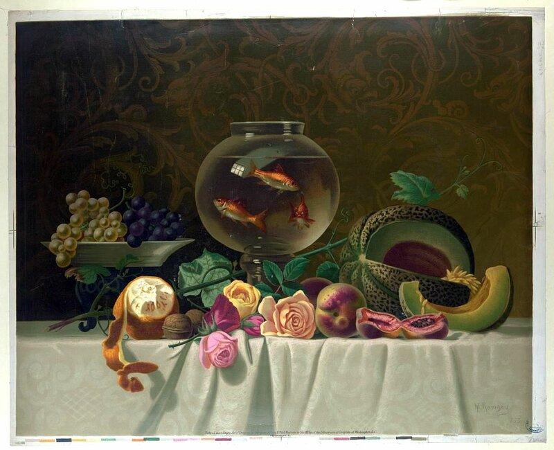 Still life with fish.