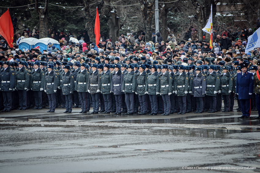 #Сталинград70 Волгоград Сталинград парад Панько