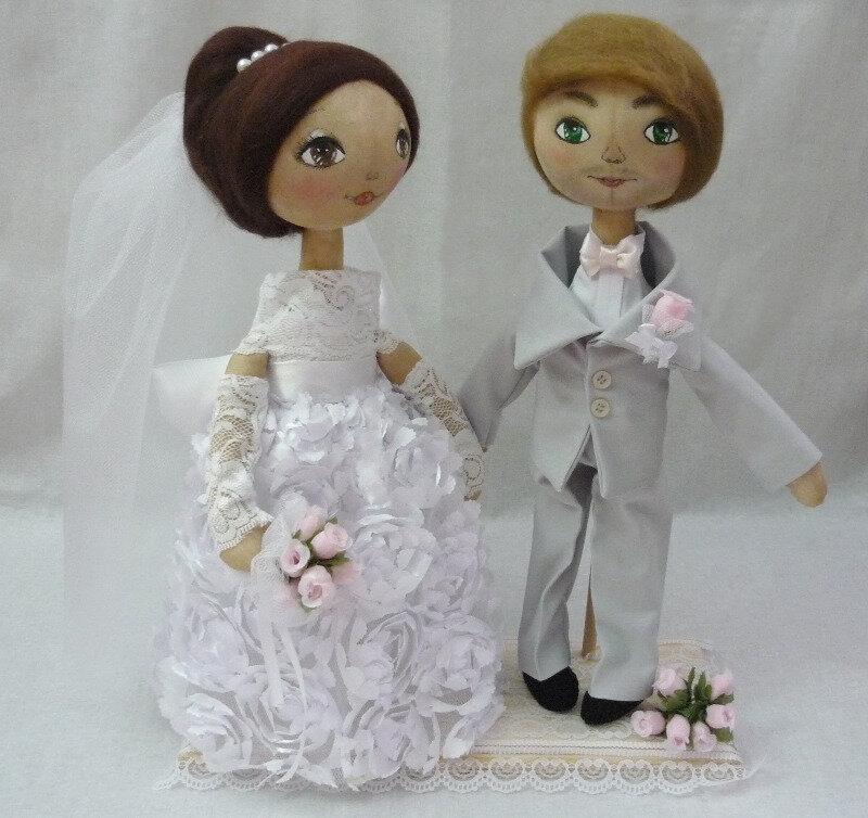 куклы свадьба