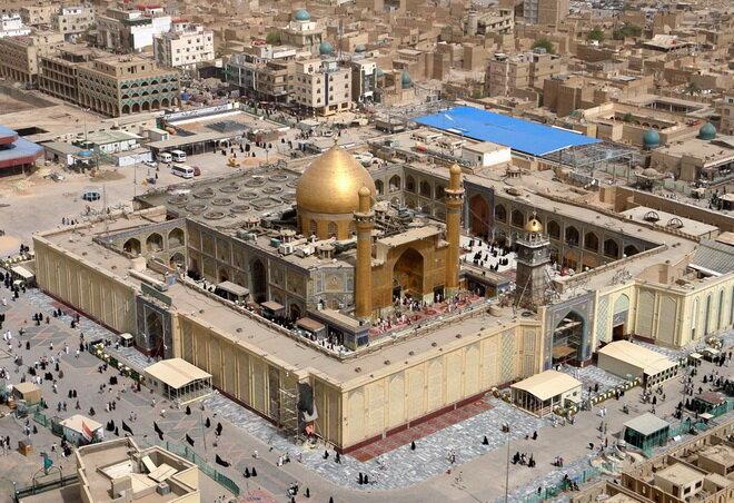 Мечеть Имама Али. Эн-Наджаф, Ирак