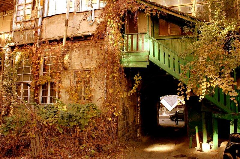 Ереван. Двор