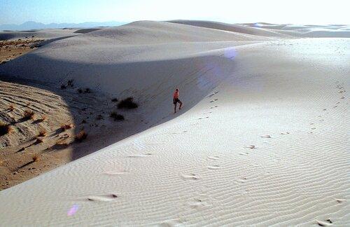 Барханы белых песков