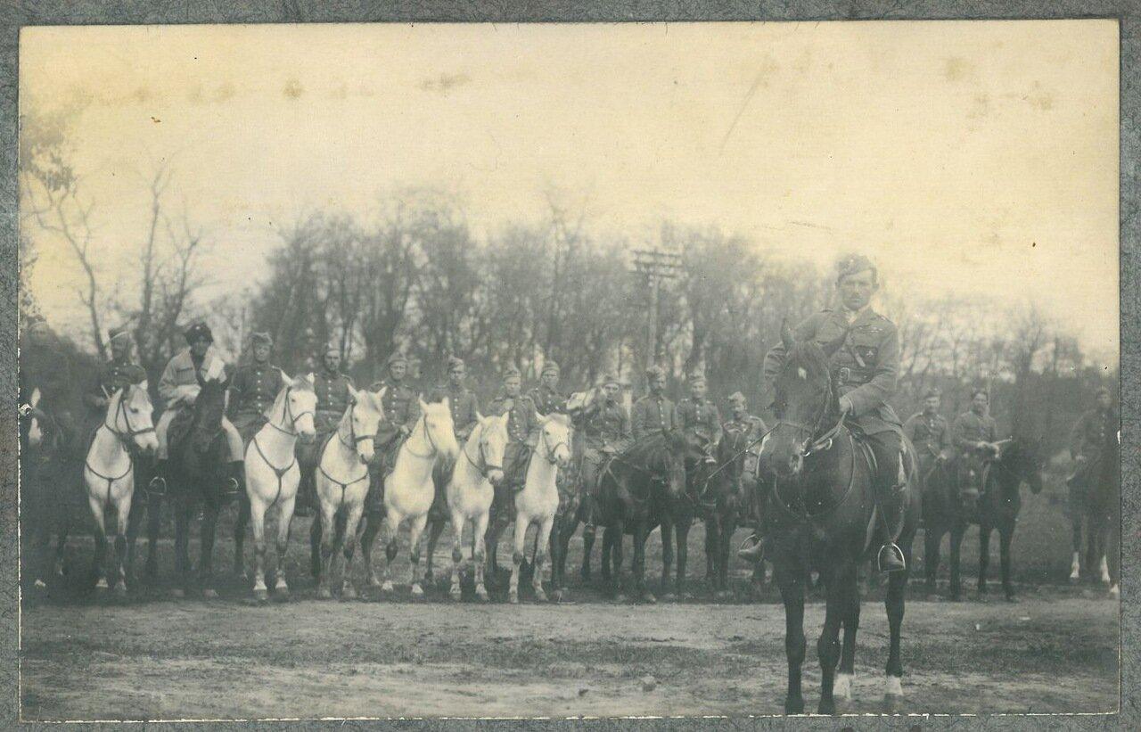 Штаб группы Булак-Балаховича. 1920 г.