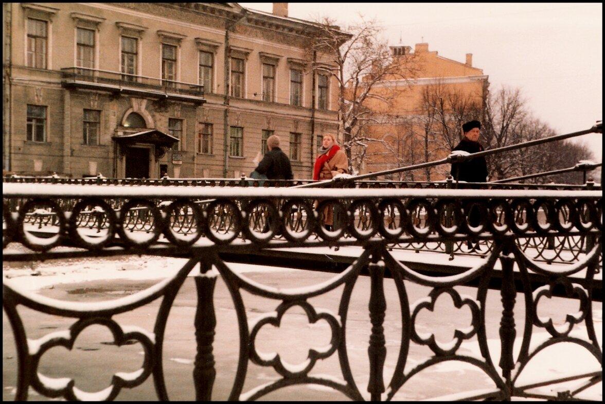 Мост через канал, рядом с домом, где родился Набоков
