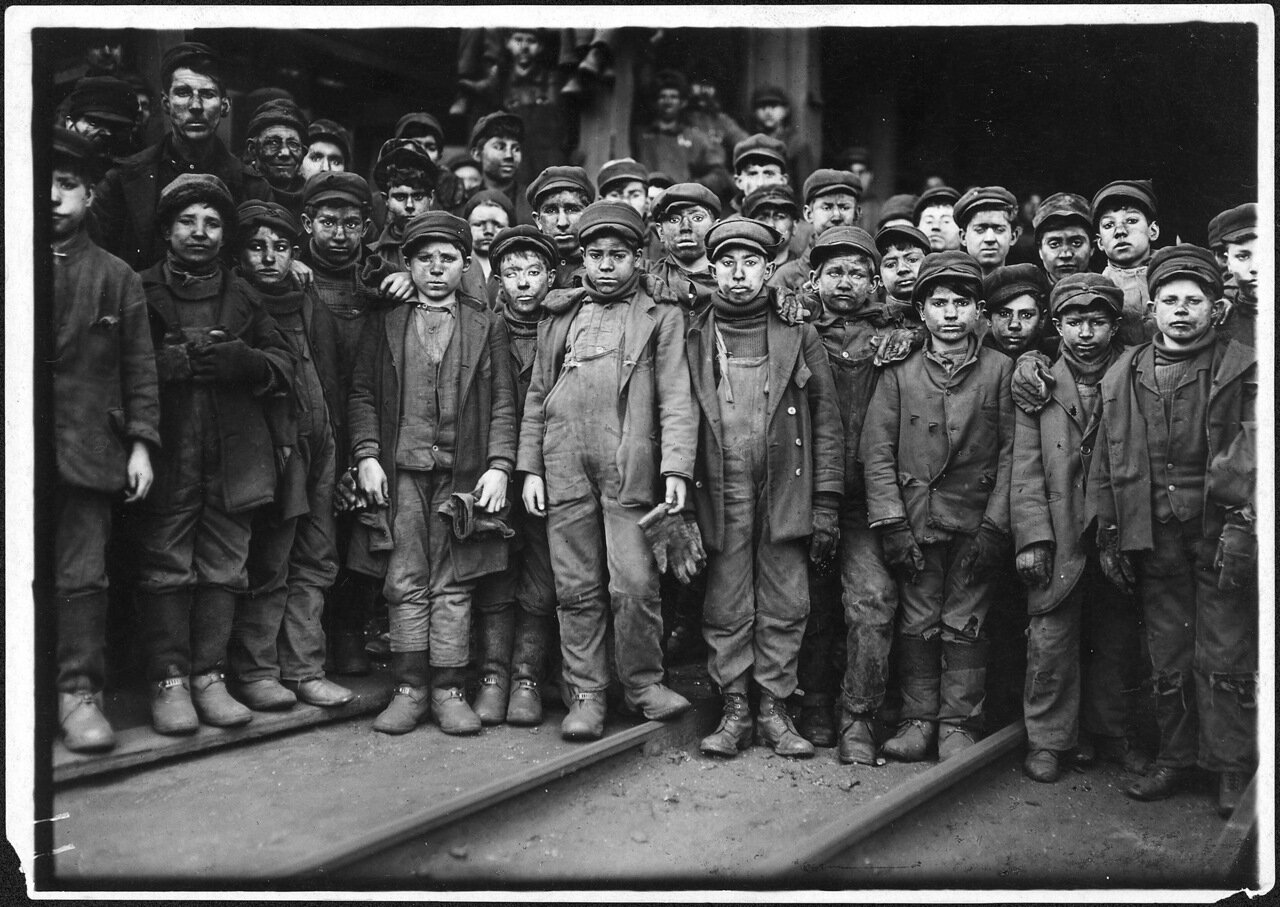 Бутобои, Питтстон, Пенсильвания. Январь 1911 г.