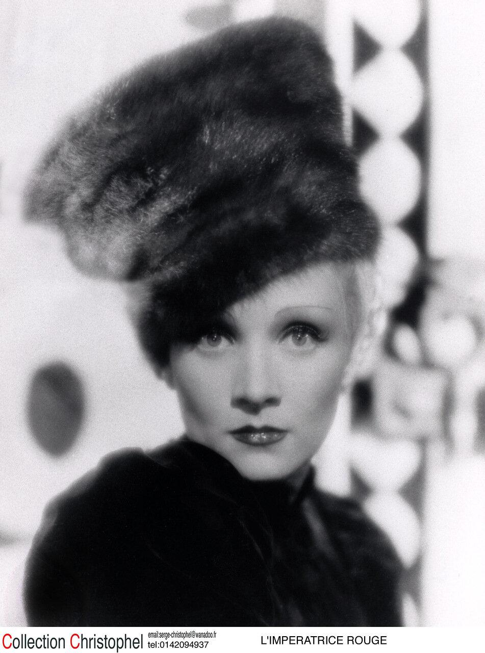 l'impératrice rouge the scarlet empress 1934real  Joseph Von Sternberg Marlene Dietrich collection christophel