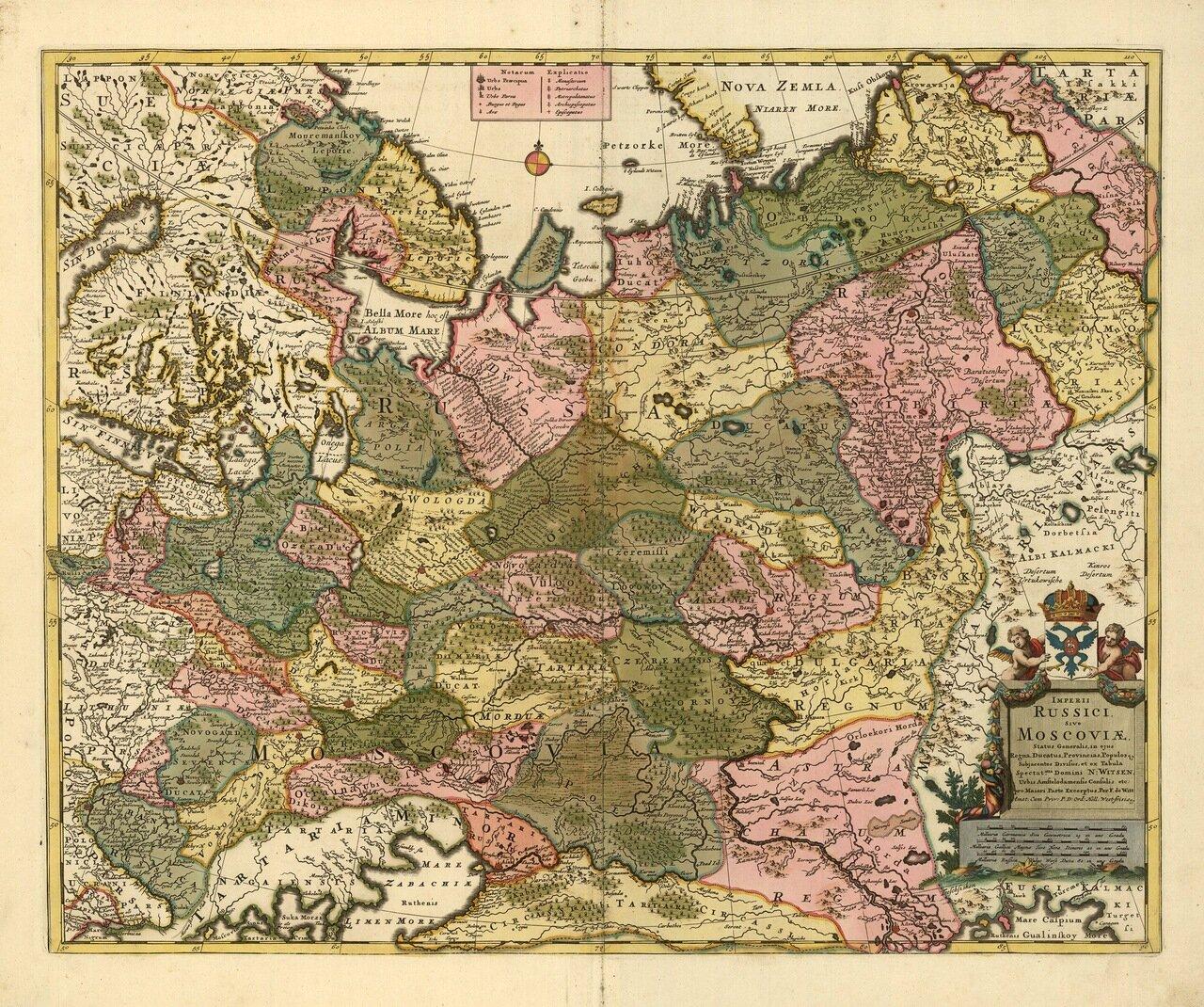 1720. Николаус Вишер.