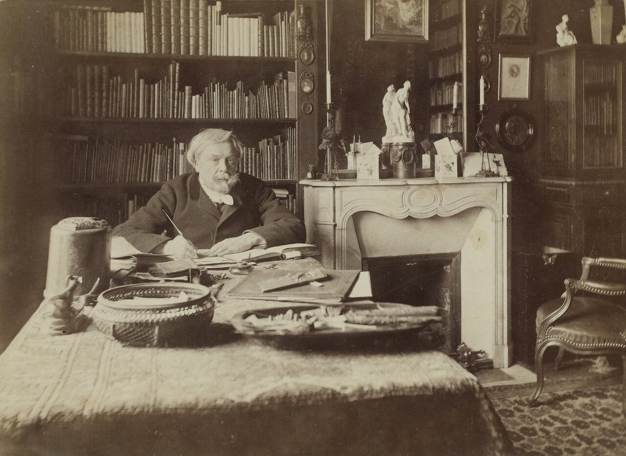 Эдмон де Гонкур (1822-1896)
