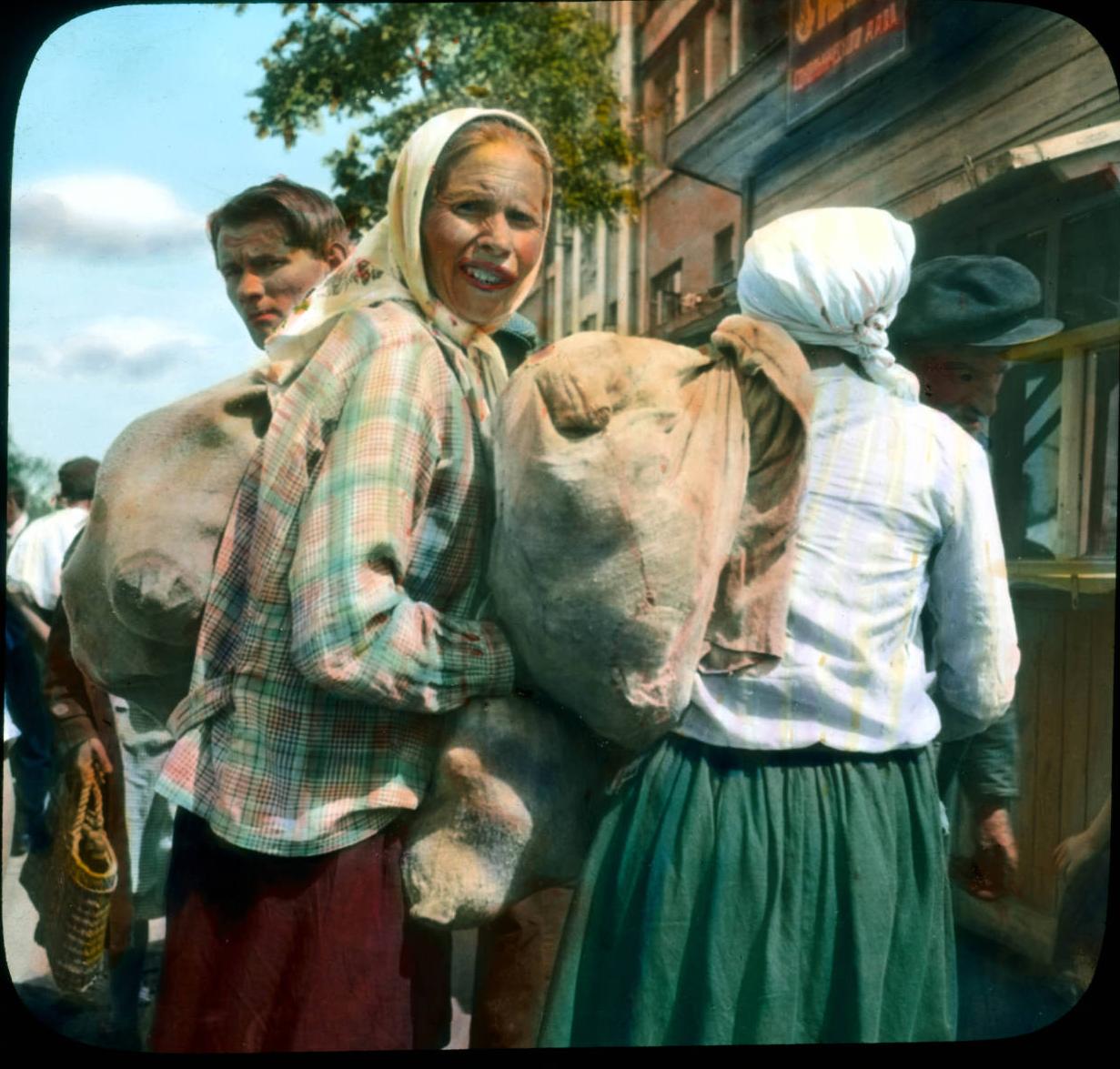 Мешочники под Ленинградом