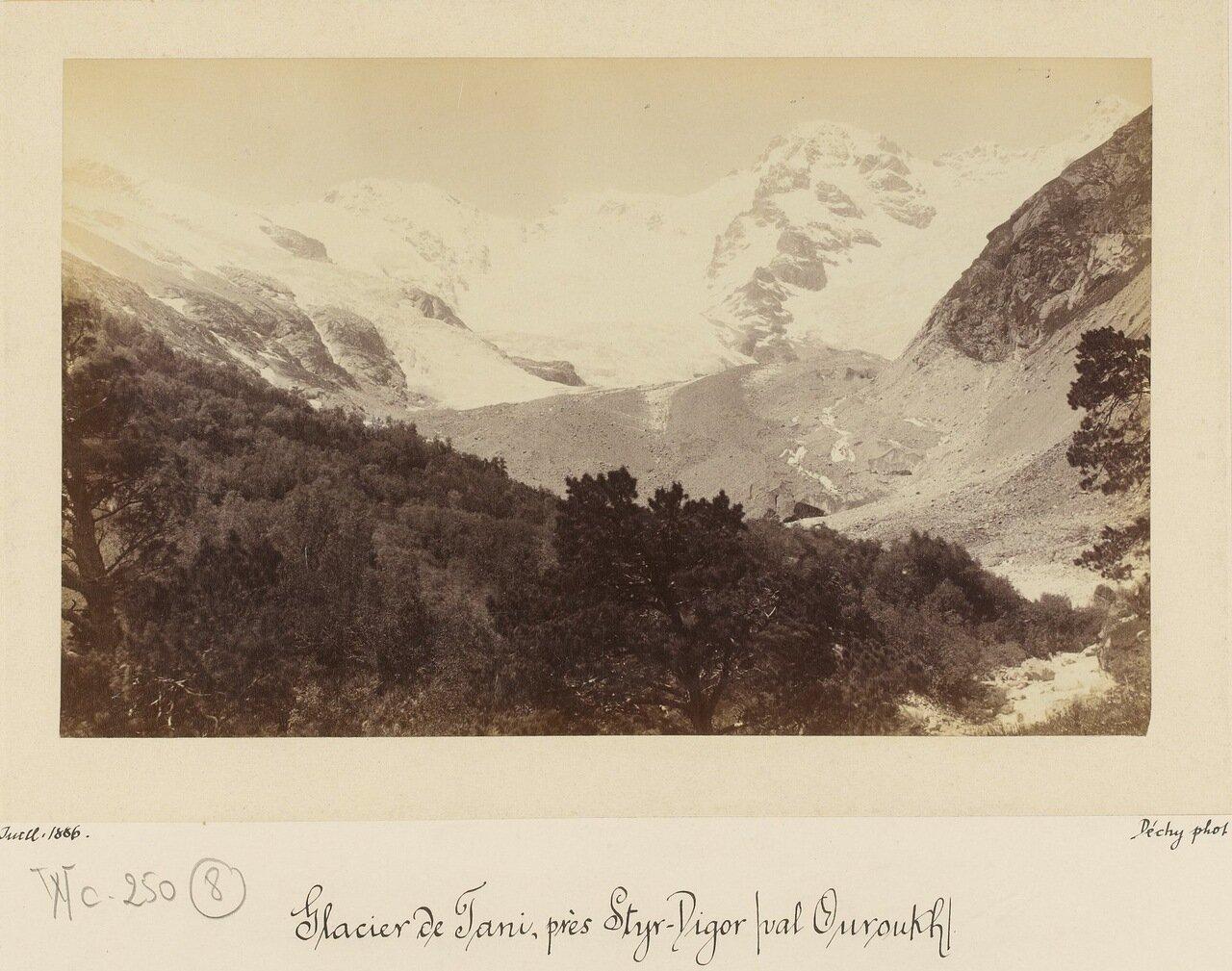 Ледник вблизи Стыр-Дигора