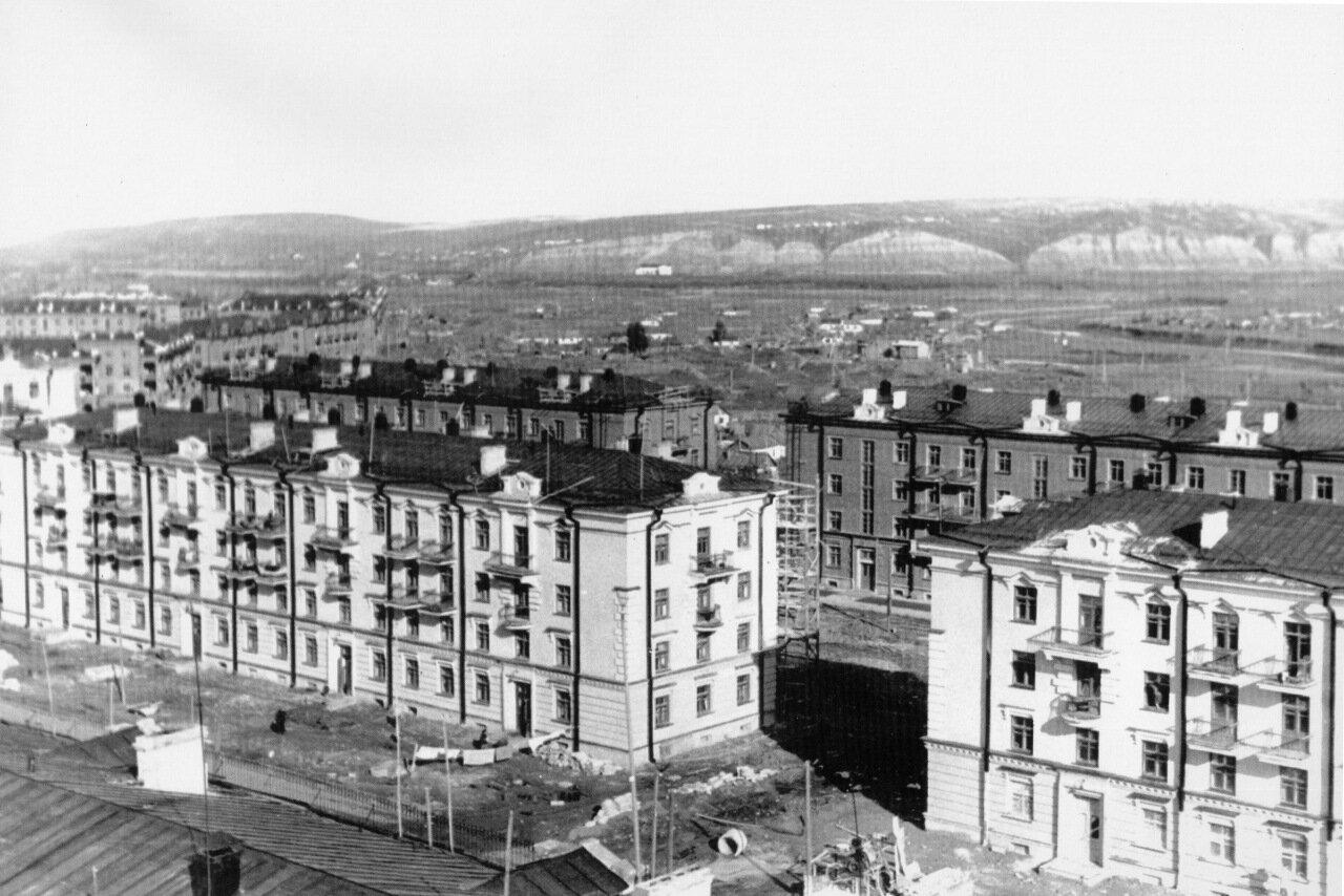 Проспект Металлургов,1949 год