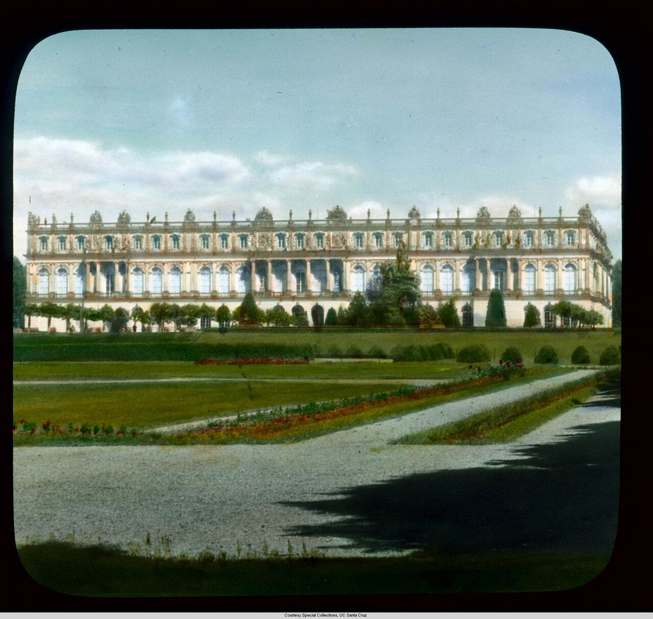 Бавария. Дворец Херренкимзее, западная часть