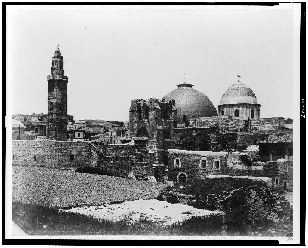 Вид на Храм. Между 1870 и 1880 гг.