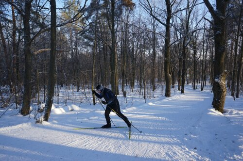 Что гонит людей в лютый мороз на лыжную трассу?