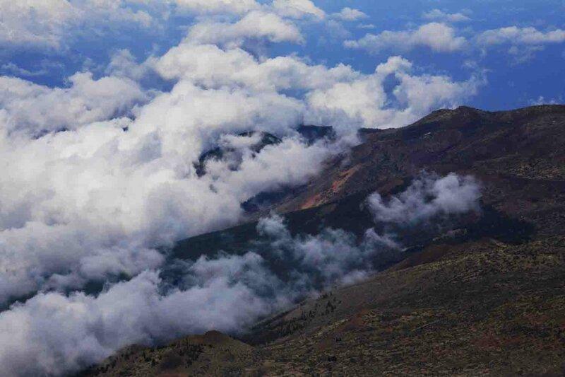 Константин Шульга, Тенерифе, на вулкане над облаками 2