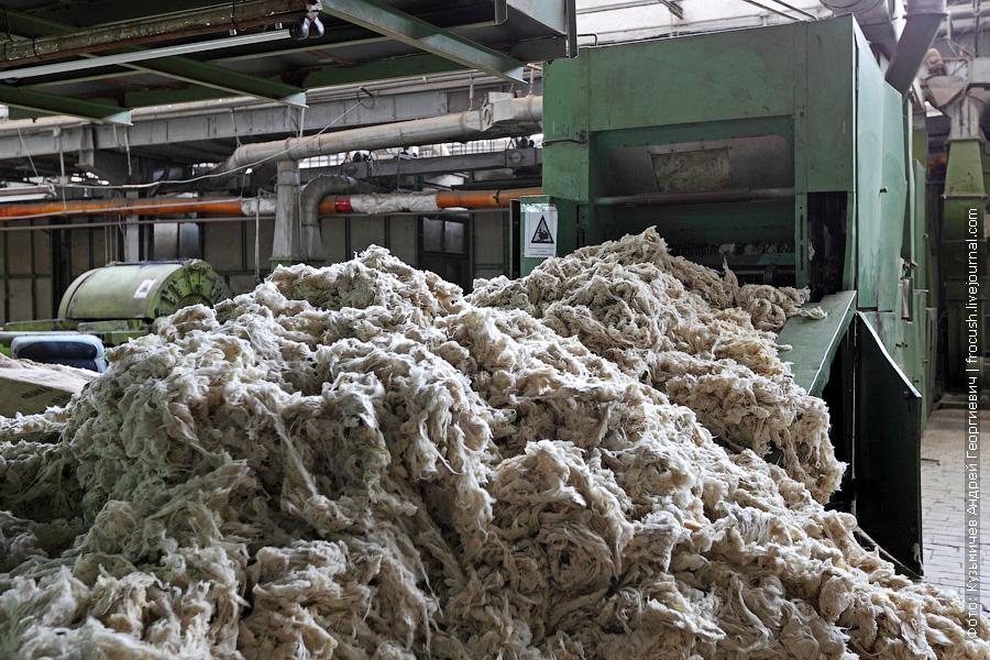 шерстяное производство