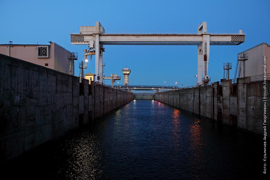 шлюз Чебоксарсокй ГЭС