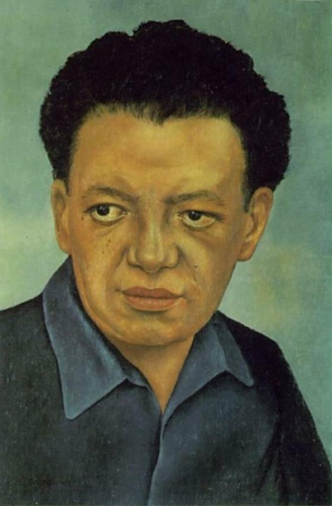 Портрет Диего Риверы. 1937 Portrait of Diego Rivera,Кало Фрида,  (1907-1954)