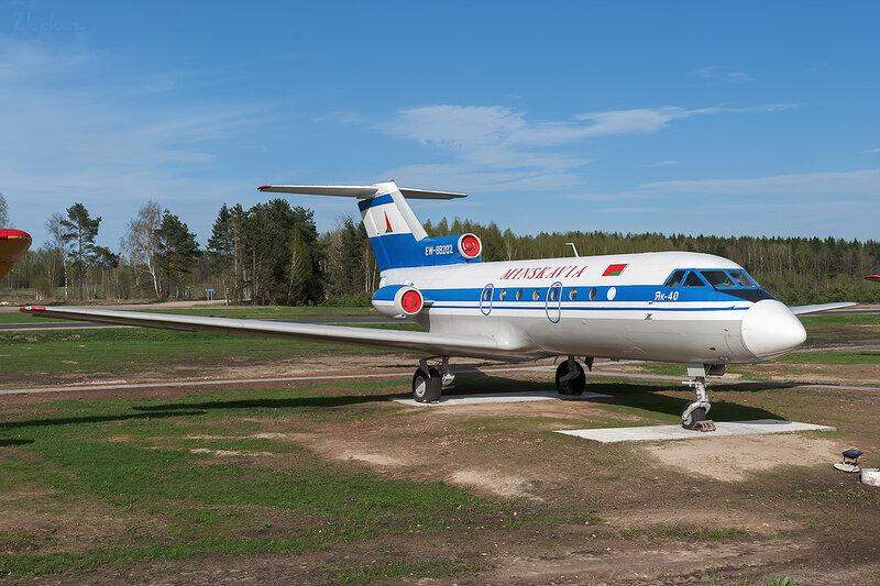 Яковлев Як-40 (EW-88202) Минскавиа D706316