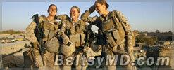 Пентагон позволит женщинам участвовать в военных действиях