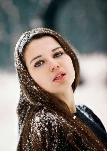 Зимний портрет (Настя)