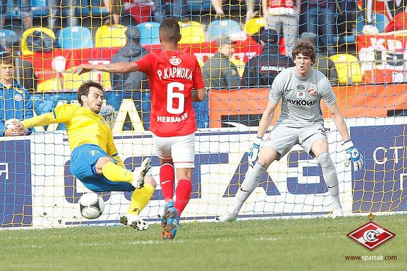 «Ростов» vs «Спартак» 1:0 Премьер-лига 2012-2013 (Фото)