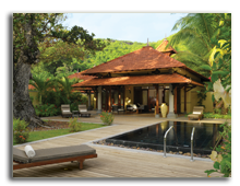Сейшелы. О.Сент-Ан. Sainte Anne Resort & SPA Senior Pool Villa