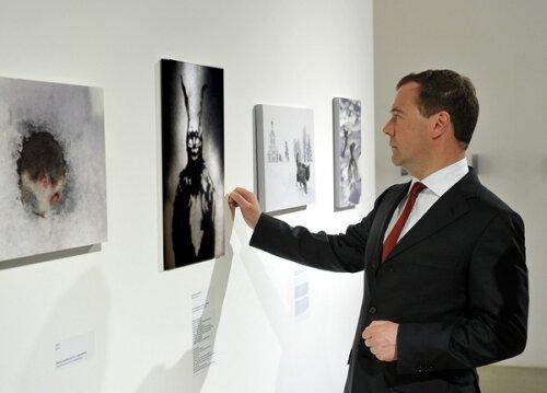 Фотожаба - Медведев и кролик.