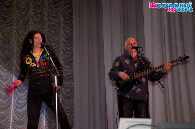 Концерт Звёзд 80-х 5 марта 2013 года в РДК Кореновска