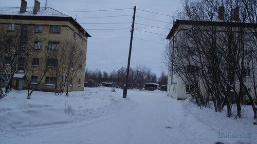 Фото города Инта №2734  Гагарина 5 и 3 31.01.2013_13:13