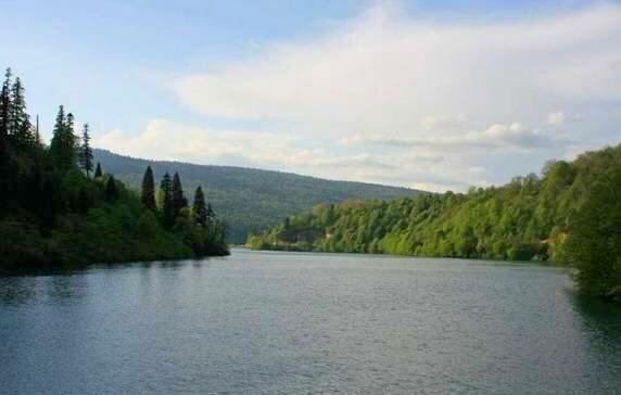 Грузия. Озеро Шаори