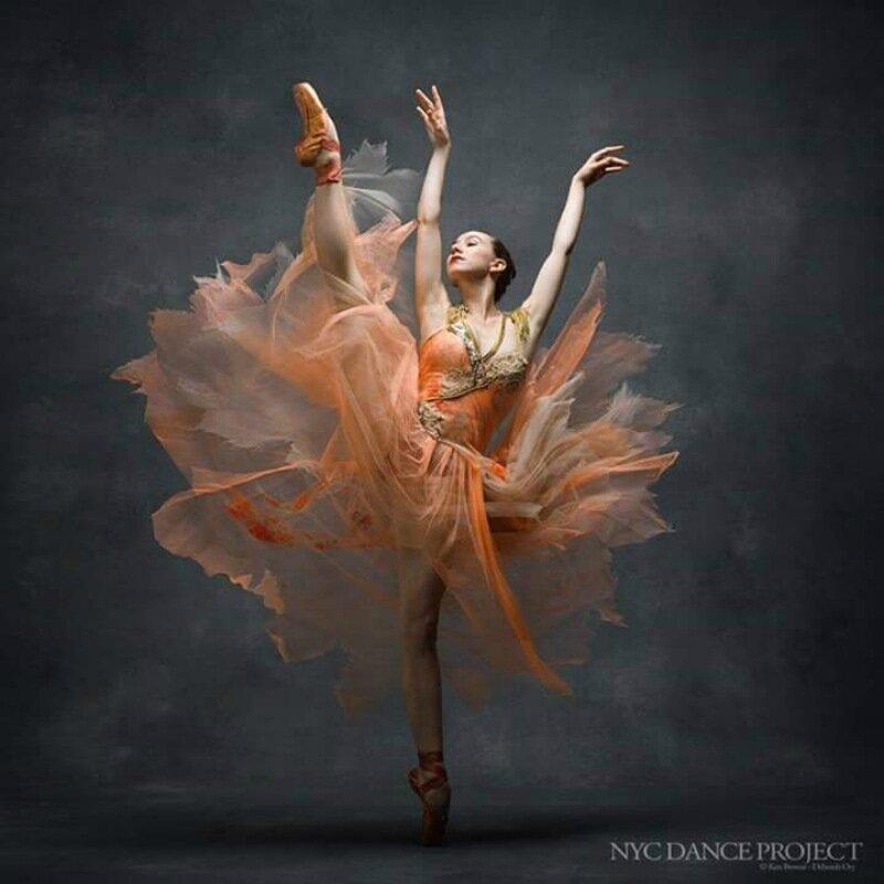 Танцевальный фотопроект NYC Dance Project