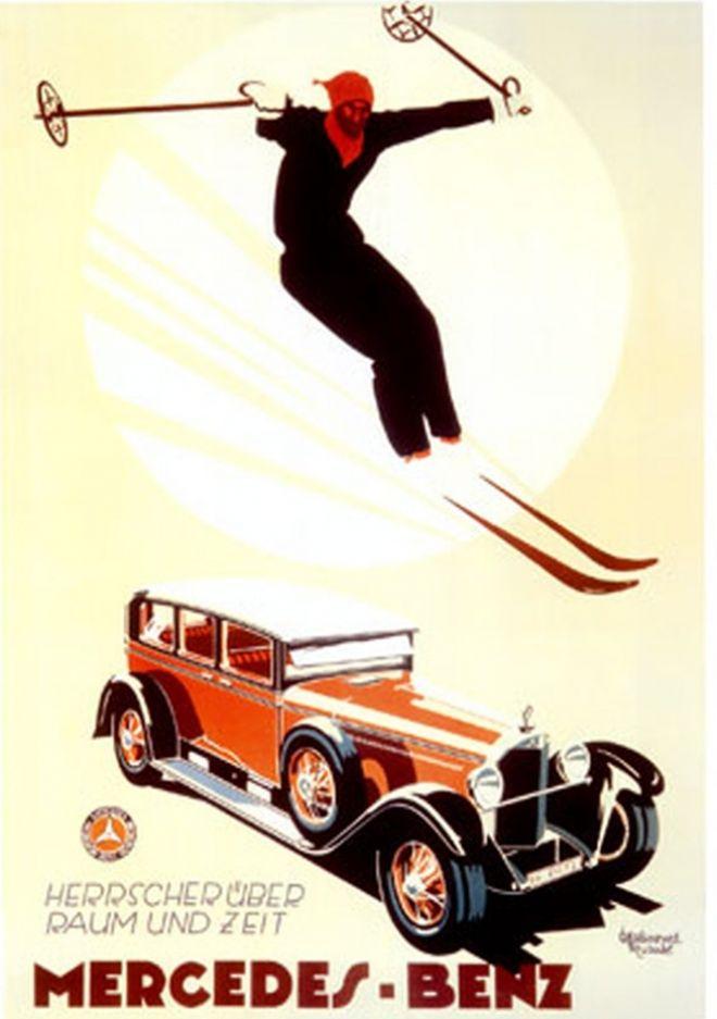 Физкультура и спорт в рекламных постерах середины ХХ-го века