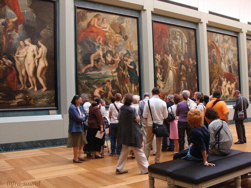 Галерея Медичи в  Лувре