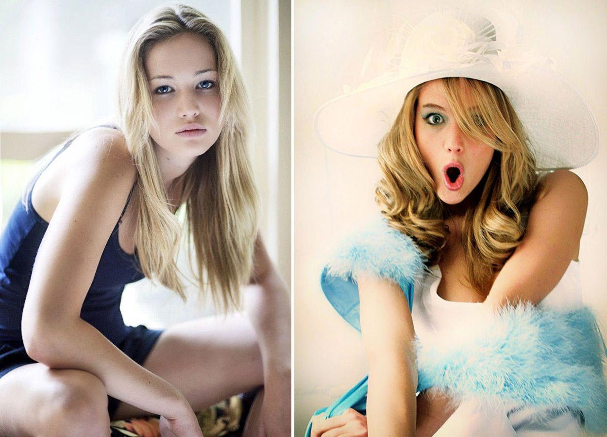 Снимки актрисы, сделанные еще до ее больших успехов в кино, заставляют поверить в правоту