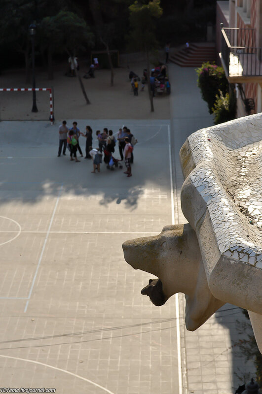 Барселона.Парк Гауди