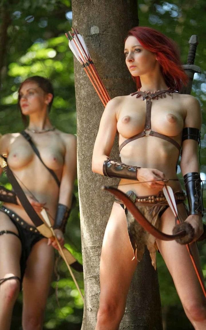 Sexy women warriors dominating sexy clips