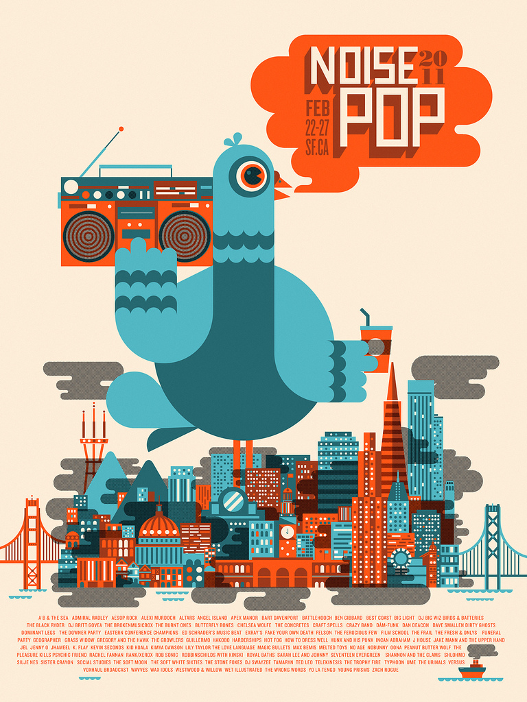 Noise Pop 2011 by Richard Perez