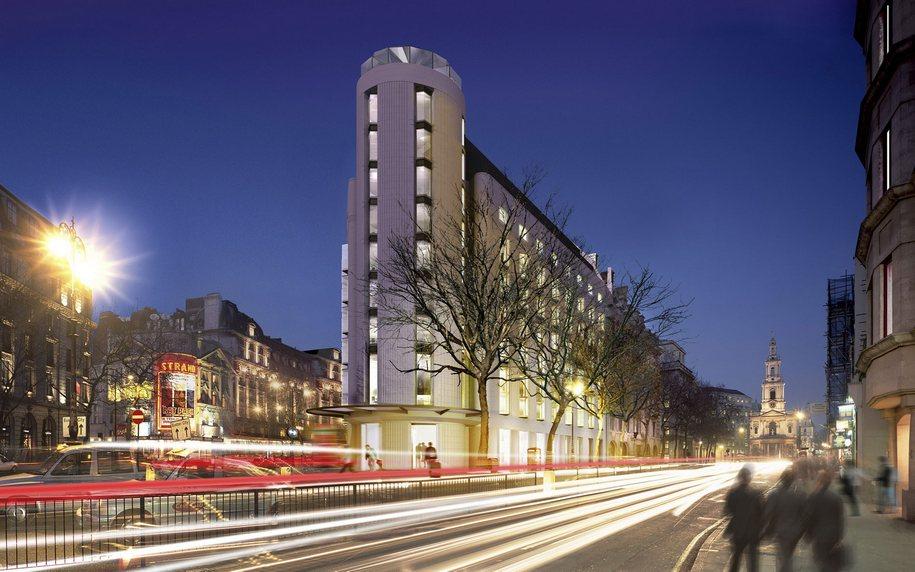Футуристичный ME London Hotel в центре английской столицы